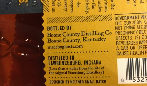 Eighteen 33 Bourbon Sourcing Close-up