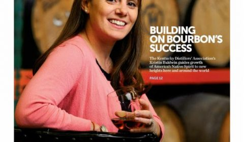 Building on Bourbon's Success cover article for Business Lexington