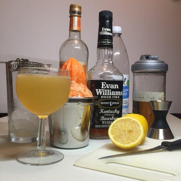 Smoked Whiskey Daisy