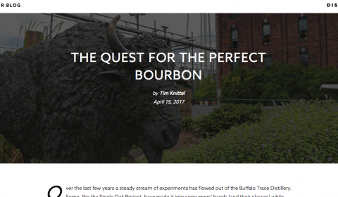 Harlen Wheatley Quest for the Perfect Bourbon